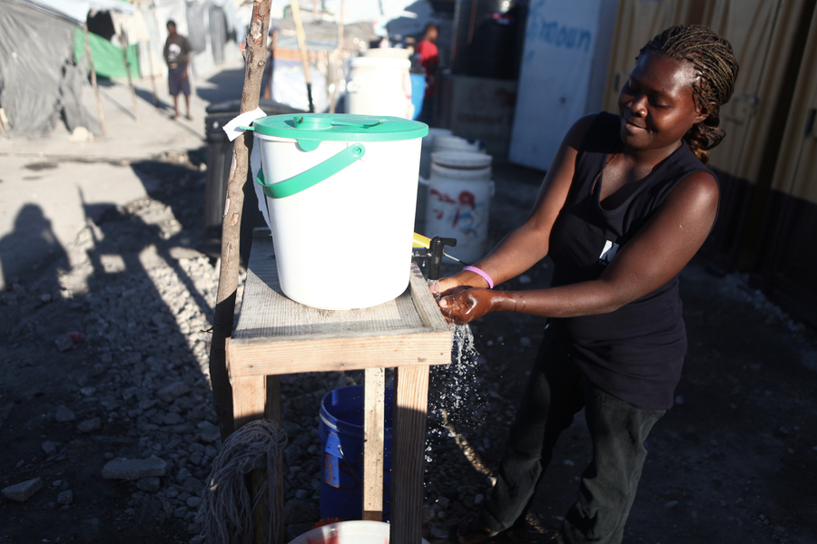 Household Toilet project (SOIL), Port-au-Prince, Haiti