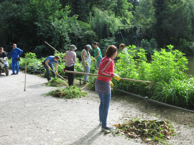 Engaging the long term unemployed by greening public spaces and through training, Zagreb, Croatia