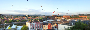 Bristol and balloons view (2014)