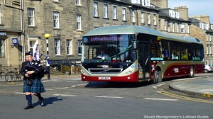 Auld but not Reekie – transforming transport energy use in Edinburgh