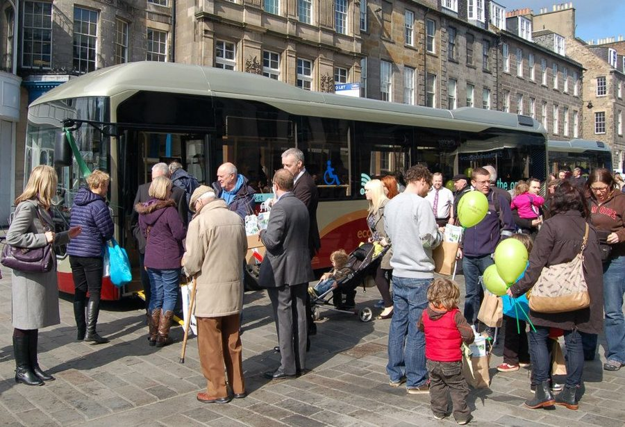 'Auld but not Reekie' – transforming transport energy use, Edinburgh, UK