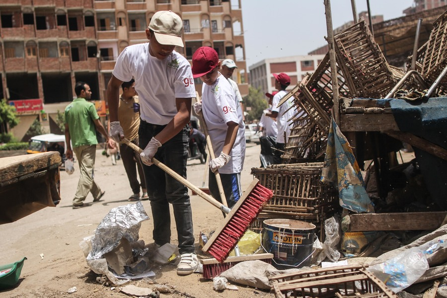 Participation-Orientated Development Programme in Urban Poverty-Stricken Areas, Cairo, Egypt