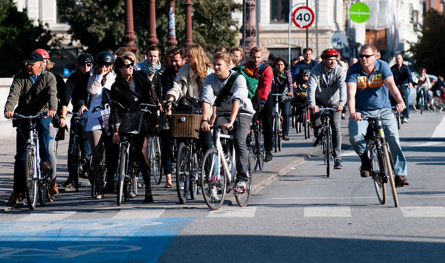 The City of Copenhagen's Bicycle Strategy, Copenhagen, Denmark