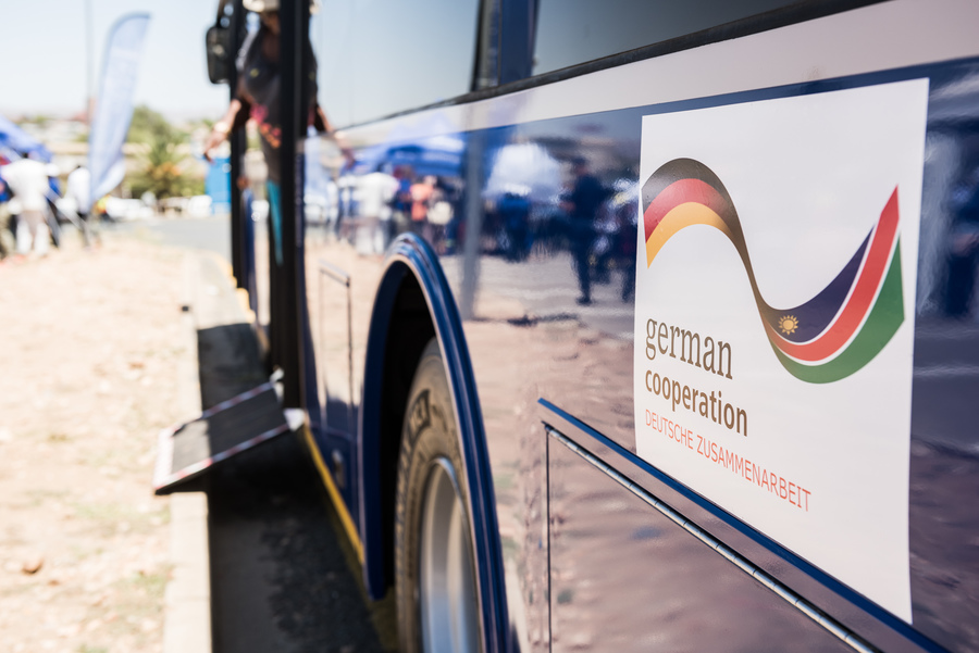MoveWindhoek – New bus system makes Namibian capital mobile, Windhoek, Namibia