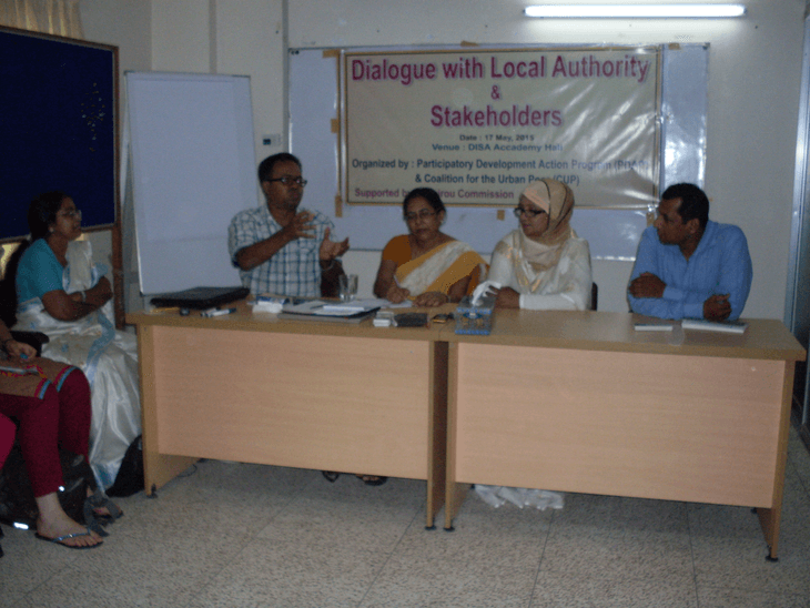 Dialogue with Local Authority and Stakeholders