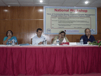 Workshop on role of community women leaders in disaster management