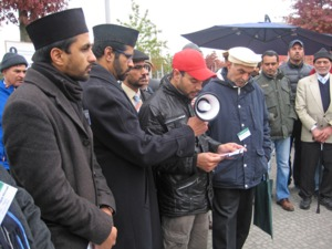 Planting by the Ahmadiyya Community