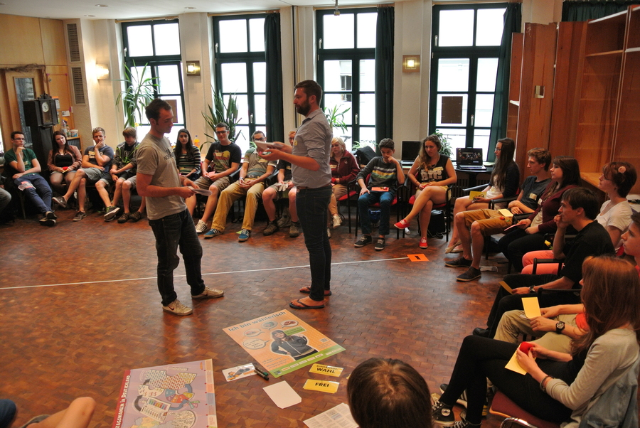 Youth election project U18, Berlin, Germany