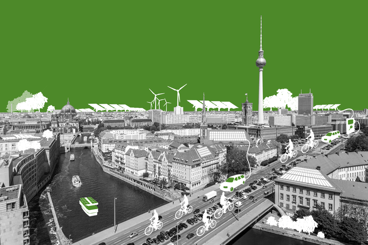 Climate-Neutral Berlin 2050, Berlin, Germany