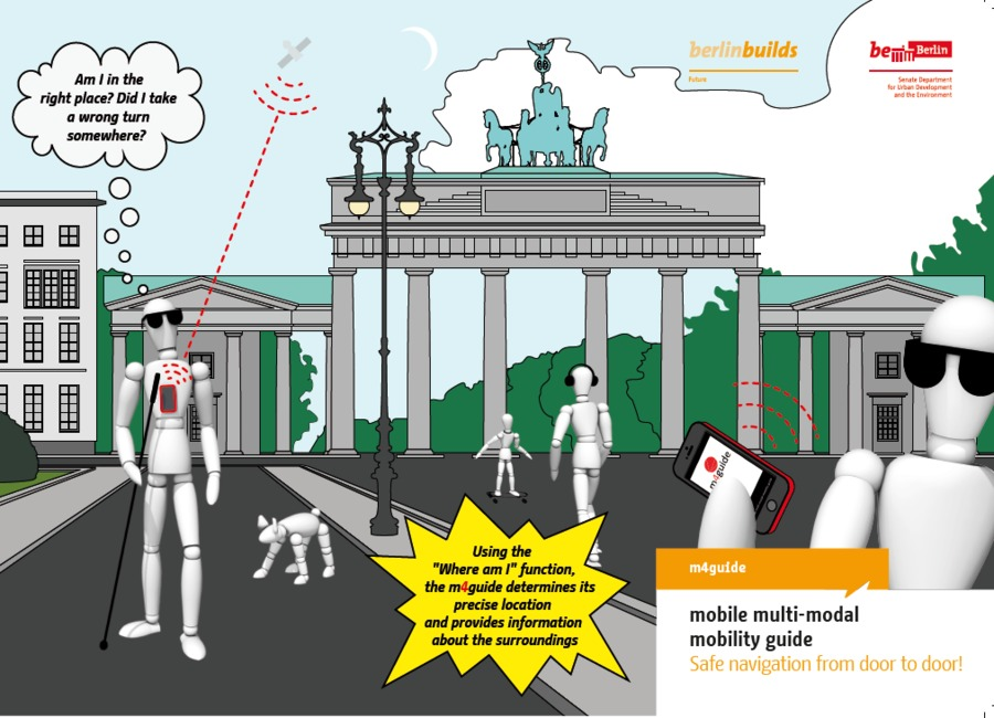 m4guide - mobile multi-modal mobility guide, Berlin, Germany