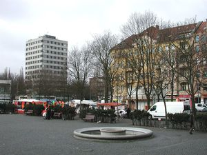 Eco-market at Leopoldplatz