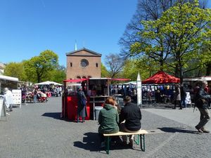 """Market of Cultures"" at Leopoldplatz"
