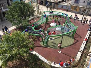 New playground in Barrio 31