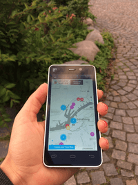 Smart Map App Gothenburg