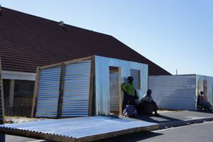 Prefabricated Township Homes in Khayelitsha Township