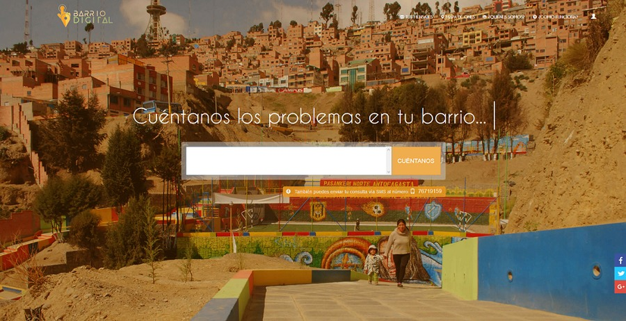 Barrio Digital, La Paz, Bolivia