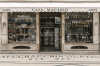 Shops with a history, Lisbon, Portugal