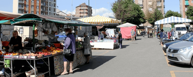 Torino markets 2.0 – Areas of Commercial Coverage, Turin, Italy