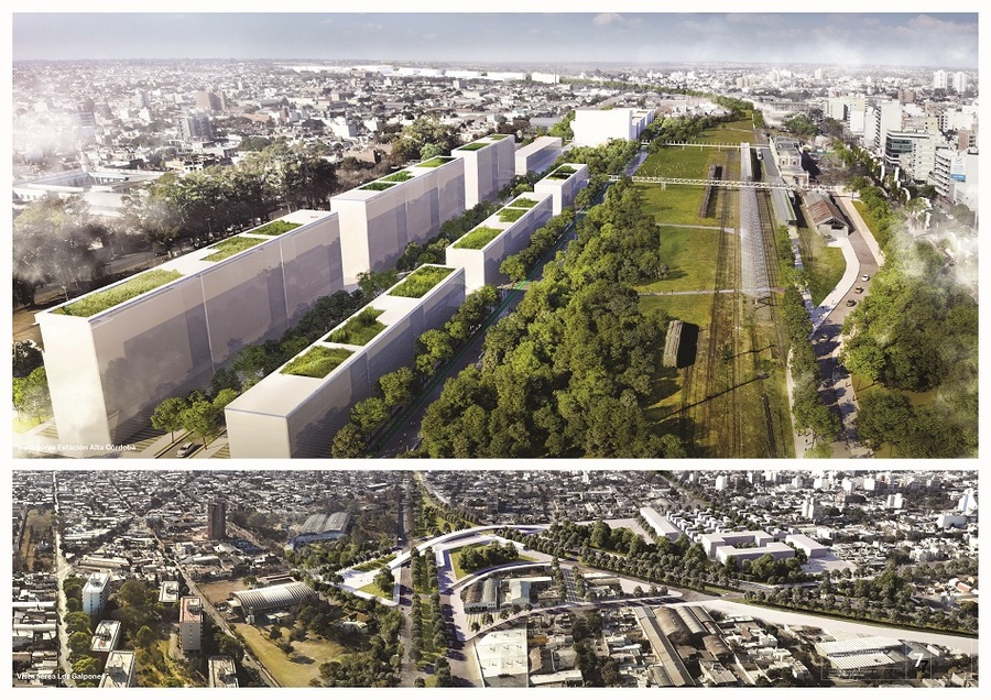 The social, environmental and urban recovery of the General Belgrano railway premises, Córdoba, Argentina