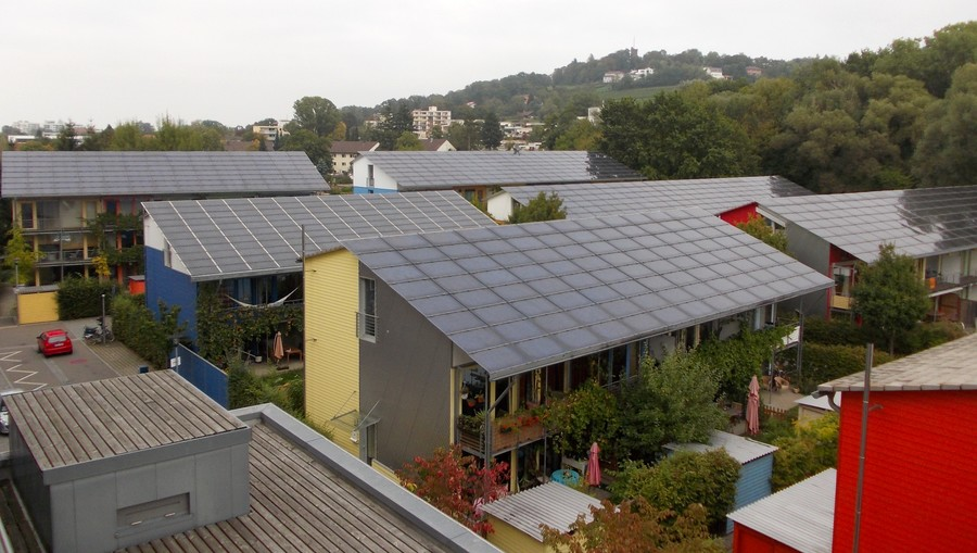 solar settlement in the Vauban District