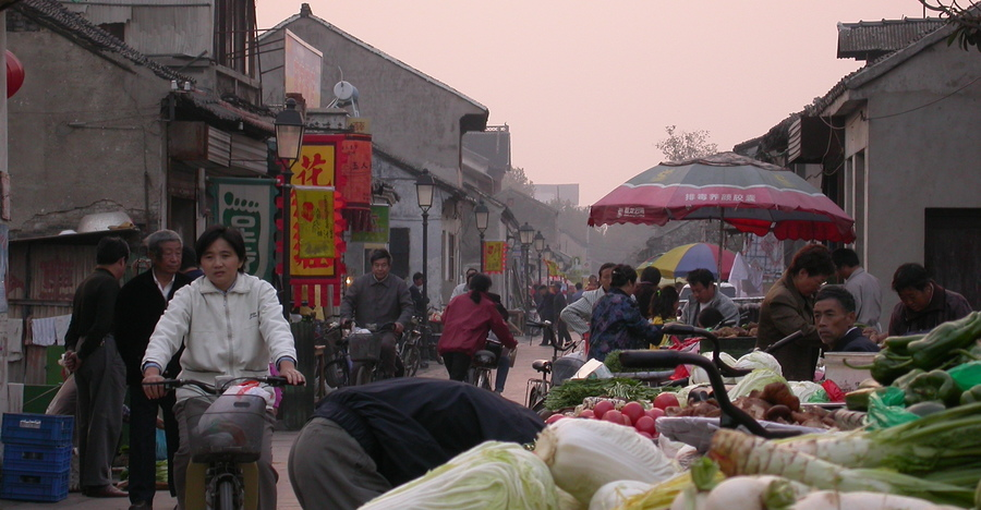 life in the old city of Yangzhou