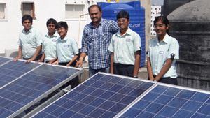 Solar Powered Schools, Hyderabad, India