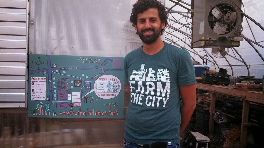 Ran Goel - Fresh City Farms